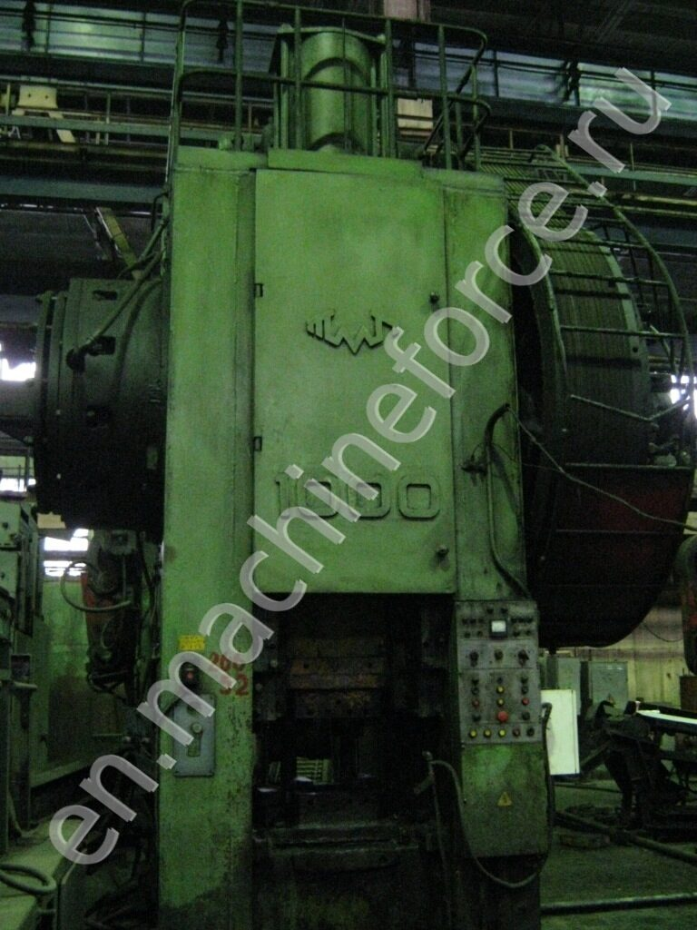 KB8540 - HOT FORGING PRESS 1000t